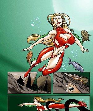 Underwater tentacles adult comics