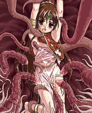 Tentacles annihilate pink pussies