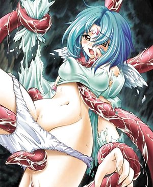 Sweet babes get drilled by tentacles