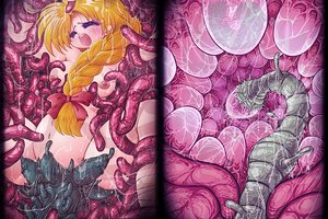 Exciting tentacle world filled with brutal Japanese hentai monsters!