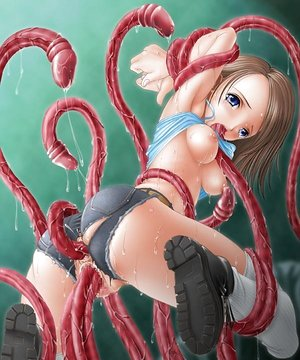 Hentai girls get fucked by monsters